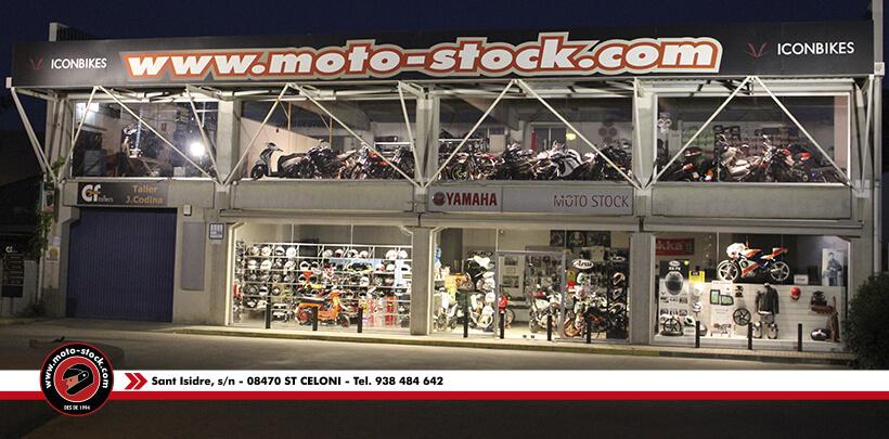 Tienda Moto-stock