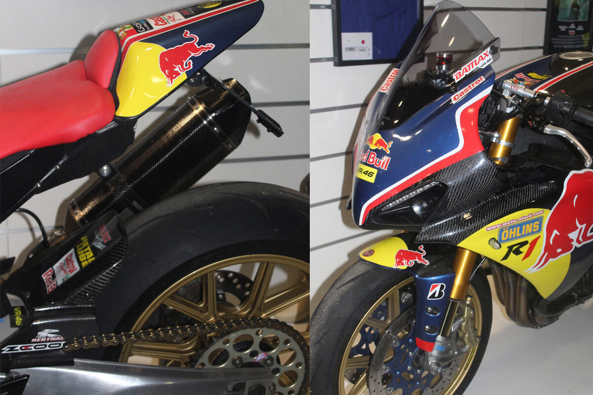 YAMAHA R1 RED BULL