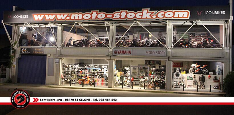 Tenda Moto-stock